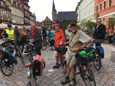 Ankunft in Quedlinburg